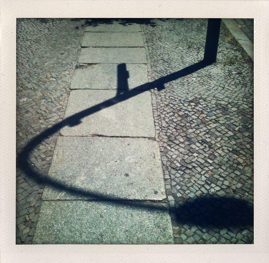 #Shadow on the #sidewalk in Berlin
