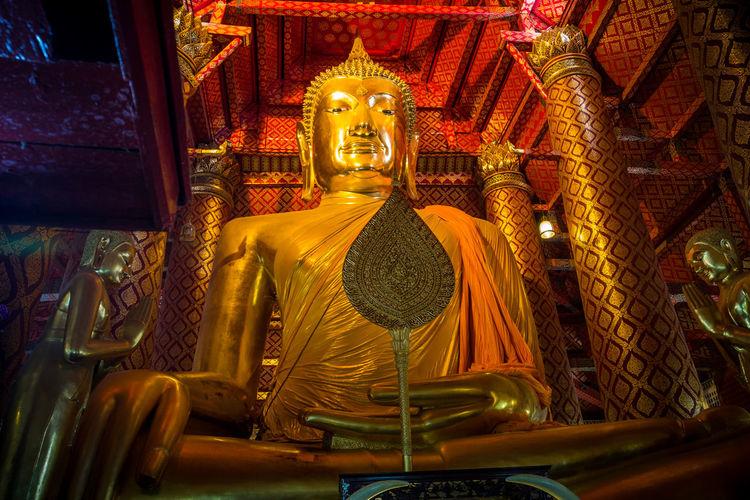 watphananchoeng วัดพนัญเชิงวรวิหาร Buddha Statue Thailand Buddha Statue Thailand Peace Travel Destinations
