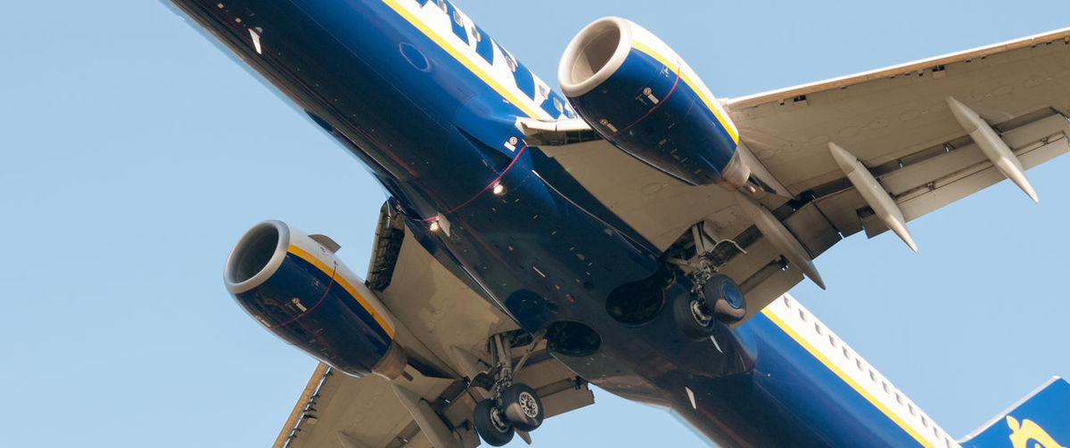 Airplane Blue