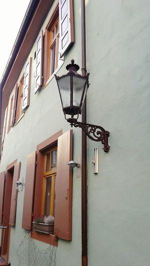 Architecture Window House Altbau Old House Durlach Lantern Laterne