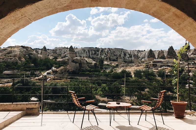 My Best Travel Photo Cavehotel Göreme Kapadokya PhonePhotography Balcony