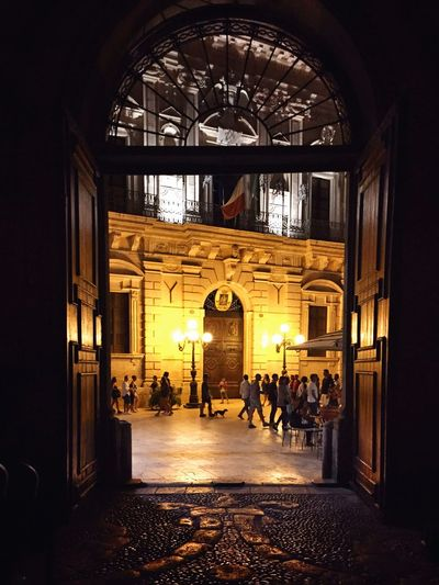 Vermexio Palace (1600) Getting Inspired City City Lights Discover Your City The Places I've Been Today Architecture EyeEm Best Shots Sicily Ortigia Architecture_collection Ortigia By Night Duomo - Ortigia