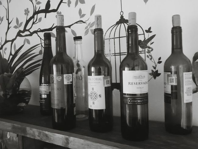 Red wine Blackandwhite Photography Winebottles Photooftheday That's Me Hello World Eye4black&white