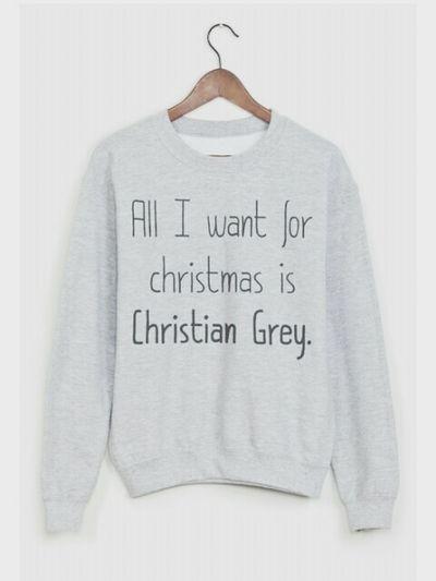 FiftyShadesOfGrey ChristianGrey 😘❤️ Christmas