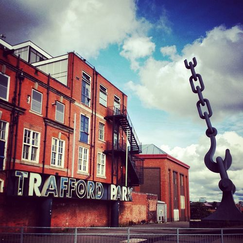Anchor Architecture Building Building Exterior Famous Place Historic International Landmark Old Trafford Trafford Ecology Park Traffordpark Urban