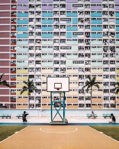 The Week on EyeEm Outdoors Colors Colorful EyeEm Selects EyeEm Gallery Eye4photography  EyeEm Best Shots Basketball - Sport Basketball Hoop Architecture Sport City Built_Structure Building Exterior Fresh On Market 2018 Colour Your Horizn