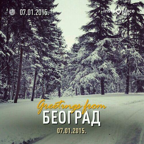 Morning In Belgrade First Snow Royalpalace Walking Around Neighborhood Iamblessed Enjoying The View Enjoying Nature Enjoying Life