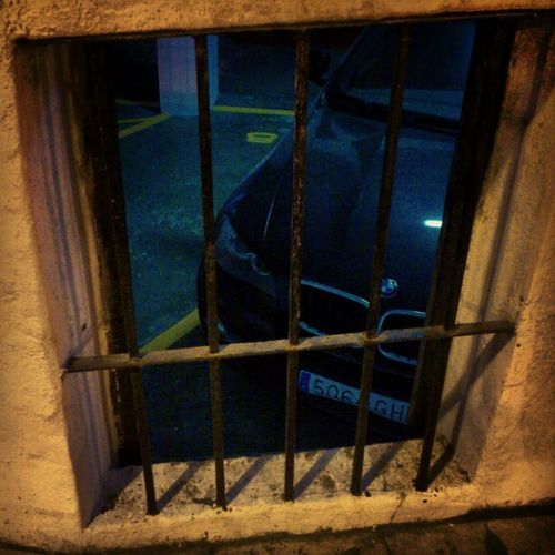 Locked Underground , Bmw Parked at the puerto_banus parking puerto banus marbella spain