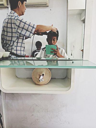Haircut ?