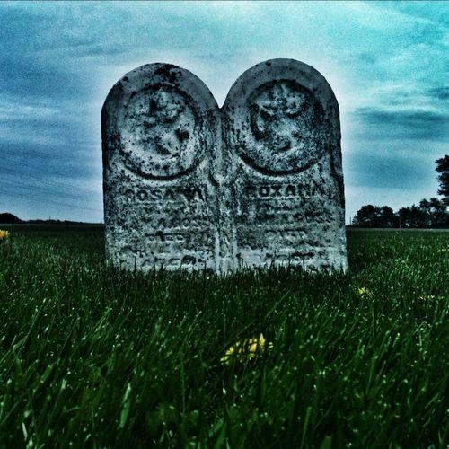 Spooky Church Graveyard..
