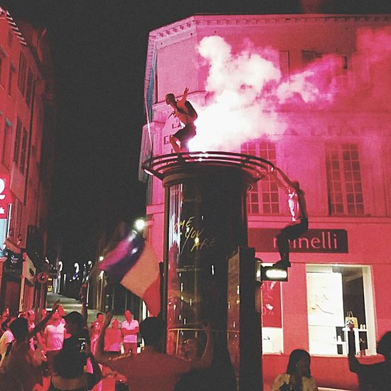 Champion du monde 🇫🇷 The Photojournalist - 2018 EyeEm Awards Arts Culture And Entertainment Smoke - Physical Structure Red Spraying Fire Engine Residential Structure Emergency Equipment Urban Scene Fire Alarm Building
