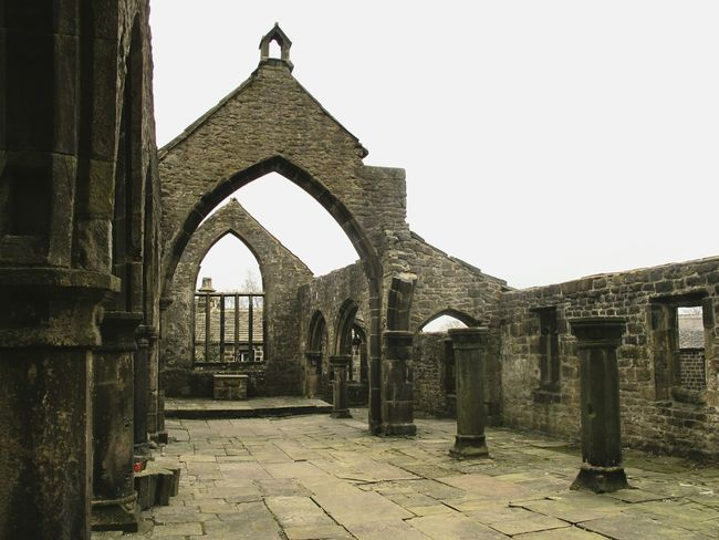 Things I Like Churchporn Church RuinedChurches Ruins Ruin Ruined Building Ruins Architecture Architectural Detail Pillars Outdoor Photography Pillar Graveyard Beauty Church Ruin Architecture Old Buildings Churchyard Church Ruins Stones Yorkshire Heptonstall Stone Structure Architecturelovers Arch