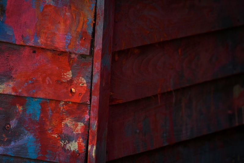Paint Shed Textures Wood Colourful Vibrant Beautiful DSLR Nikonphotography Children's Art Showcase: February Love