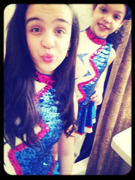 Me and My sister in our uniform ツ