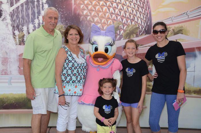 Daisy Duck Disney World Disney Disney World EyeEm Selects Group Of People Men Senior Adult Smiling Togetherness Emotion First Eyeem Photo