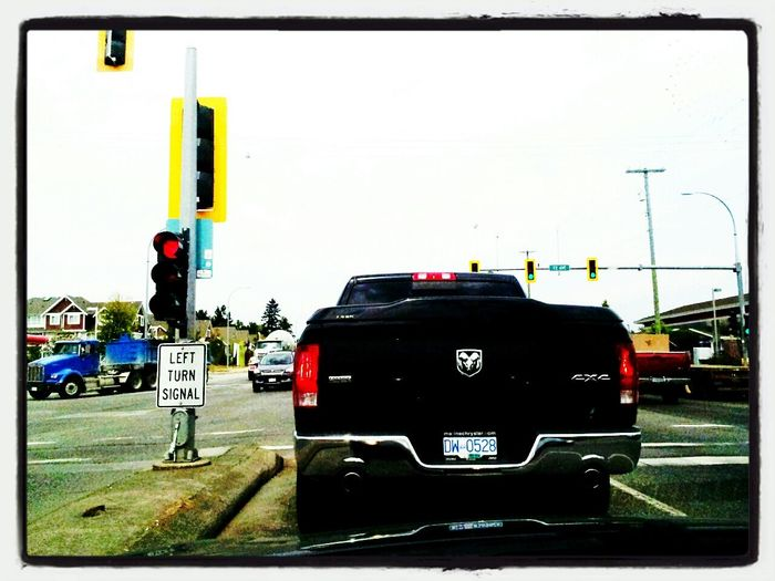 Behind another Dodge at Mood Captures Hello World Colours Taking Photos a red light