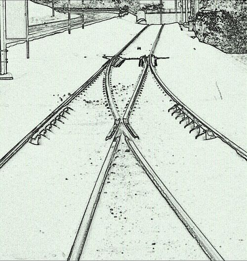 Hanging Out Blackandwhite Train Train Tracks Simplicity Bws_worldwide Eye4photography  Ee_daily Xiseverywhere