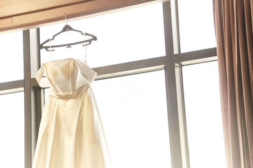 Bridal Shop Bride Bride Dress Coathanger Dress Fashion Hanging Indoors  Low Angle View Wedding Wedding Ceremony Wedding Ceremony-thai Style Wedding Day Wedding Dress Wedding Party Wedding Photography Wedding Photos