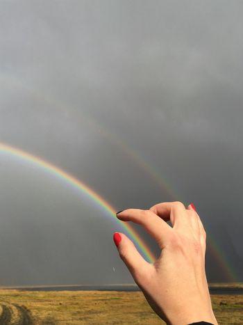 Rainbow Double Rainbow Iceland