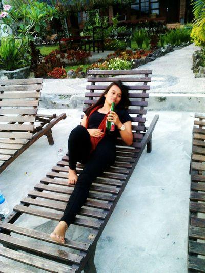 That's Me Enjoying Life Relaxing Tuktuk Siadong samosir cottages Enjoy With Me