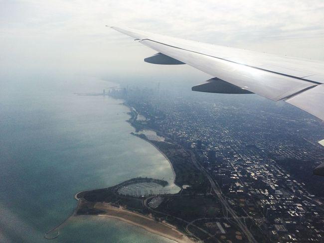 Landing in Chicago !!