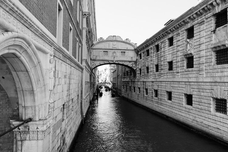 Architecture Built Structure Building Exterior Sky Day Building No People Nature The Way Forward City Clear Sky The Past Diminishing Perspective History Direction Outdoors Arch Water Wall - Building Feature Canal