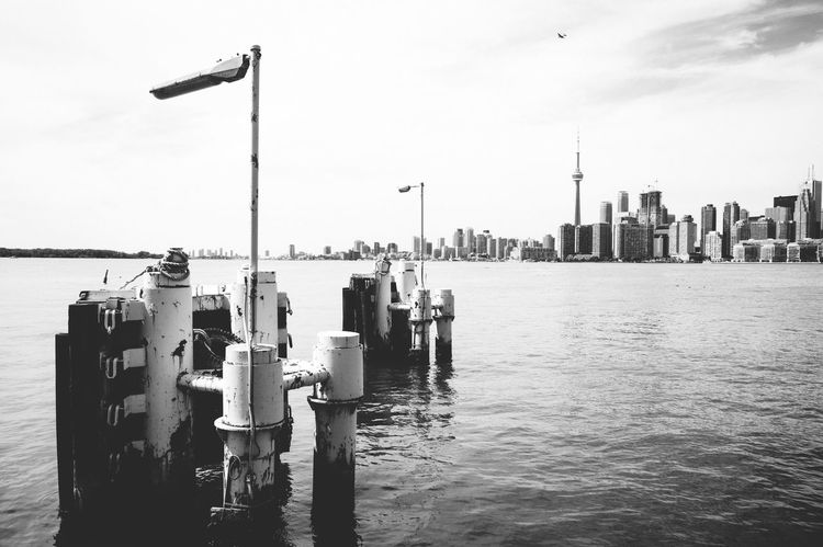 View of Toronto from Ward's Island Architecture Waterfront Skyline First Eyeem Photo