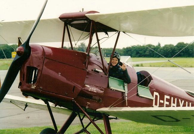 It's Me Flying Plane Adventure Have A Nice Day♥ Having Fun Oldtimer Birthday Present Cool Let's Go. Together. Done That.