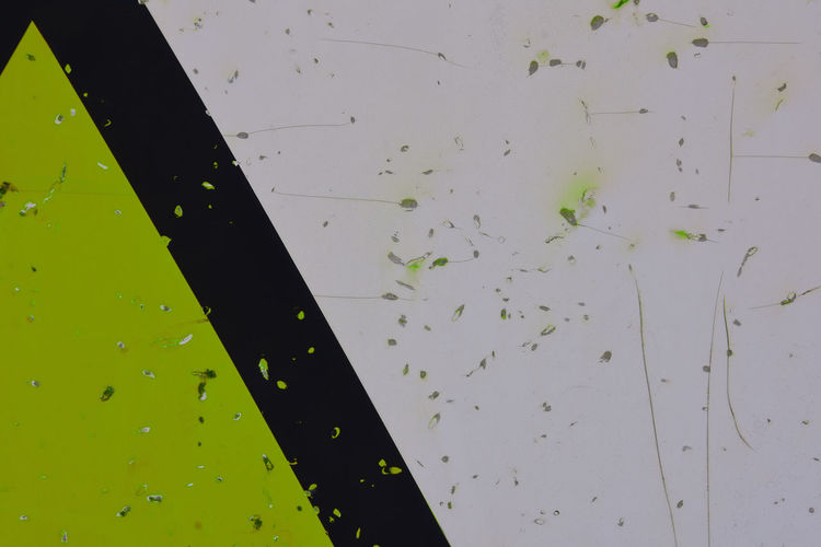 Abstract EyeEm Green Color Surfaces And Textures Angled Backgrounds Black Stripe Close-up Damaged Daylight Dented Flat Surface Full Frame Metallic Minimalism No People Obscure Painted Image Pitted Scratched Triangle Wallpaper