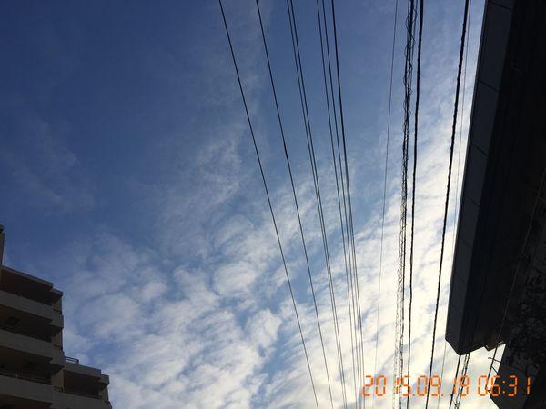 おはよ~ Sky Clouds