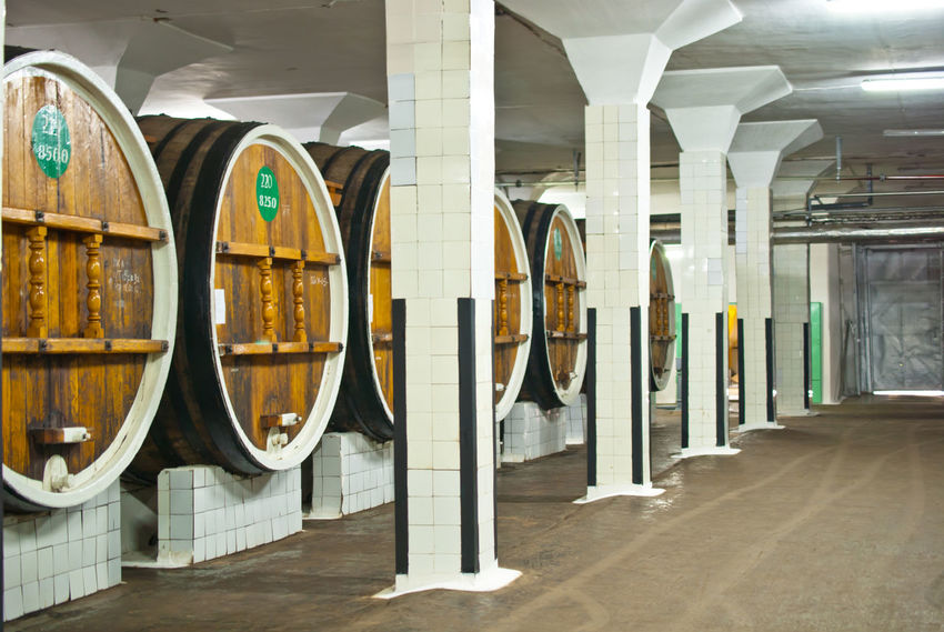 Absence Arrangement Barrel Business Crimea, Ukraine Geometry Geomtry Leading Massandra Oak Order Production Storage Wine Wine Tasting Winery