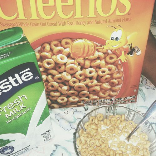 Cereals Milk Cheerios Captured Photography Popular Photos EyeEmbestshots EyeEmBestEdits Eyeem Philippines Breakfast 📍