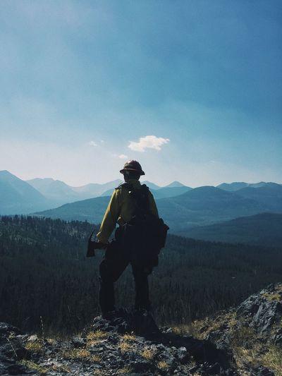 Montana Outdoors Lamdscape Outdoor Photography Wildlandfirefighter