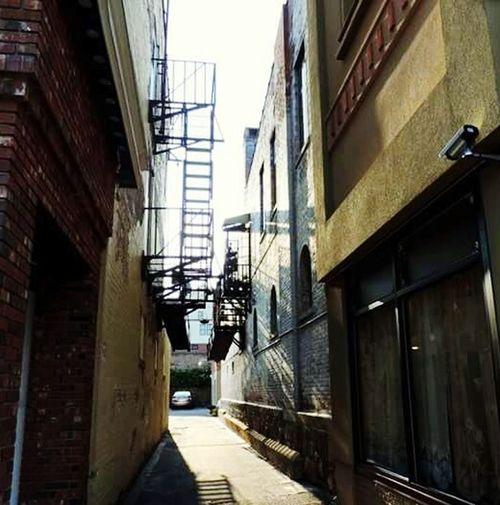 Downtown Torrington. Torrington Connecticut New England  The Yankee Pedlar Back Alleys Staircases Alley Staircases