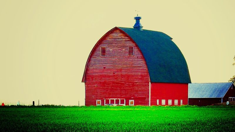 Red Barn . The Journey Is The Destination