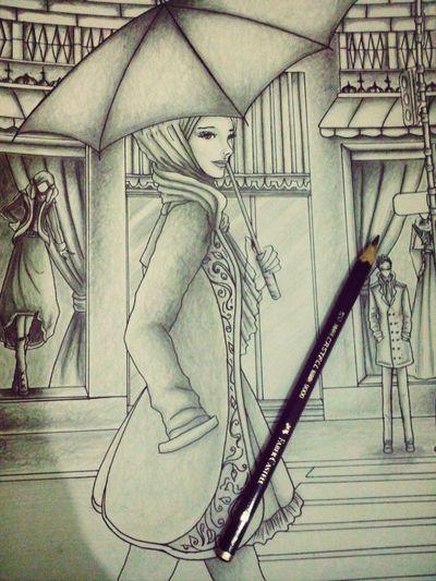 Wip Sketch Art Design