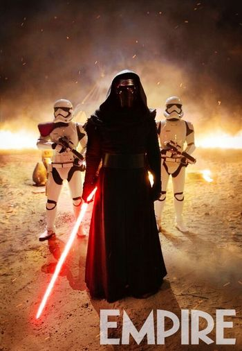 Kylo Ren is a hell of a villain. Go check him out if u haven't yet. Starwars TheForceAwakens Episode7