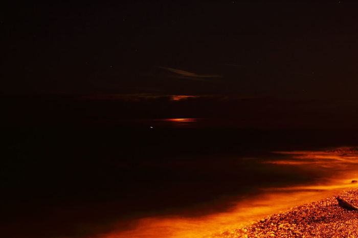 Moonlight Sky Natural Phenomenon Cloud - Sky Astronomy Red Landscape Astrology Sign Outdoors