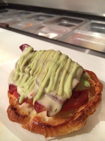 The Infamous BALT sandwich SandwichHiblend Cafe Health Bar