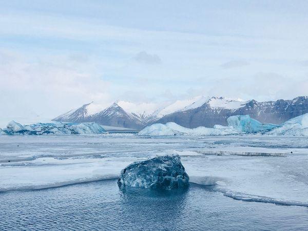 Gletscherlagune Jökulsarlon Gletscher Gletschersee Jokulsarlon Lake Jökulsárlón Island Lake Glacier EyeEm Selects Snow Cold Temperature Beauty In Nature Water Sky Winter