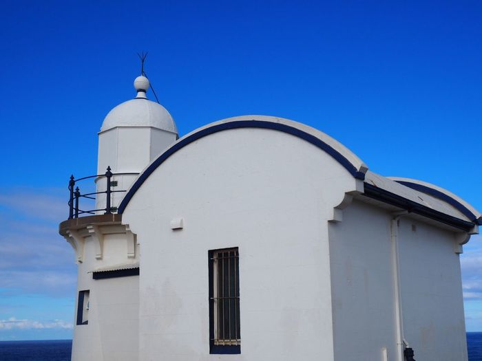 Lighthouse Architecture Built Structure Building Exterior Blue Clear Sky Lighthouse Port Macquarie