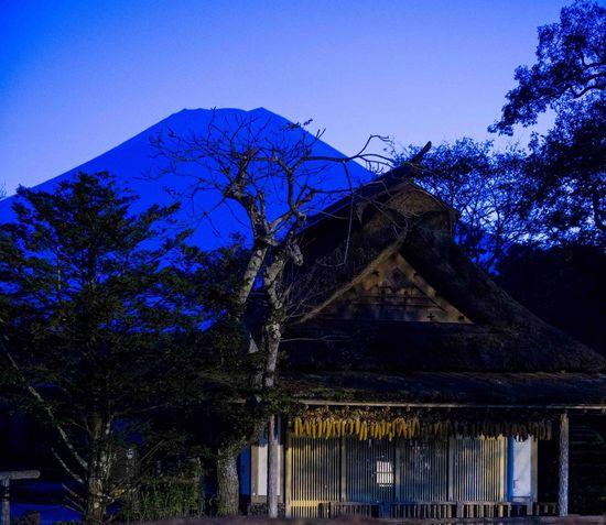 日本 富士山 Japan 夜景