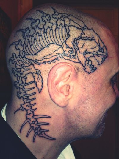 a friend have a new Freaky ;) Tattoo art Thats Life Maniac / 2012