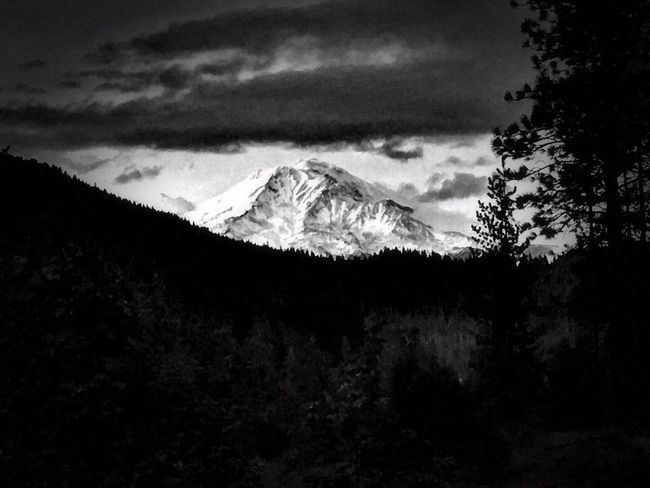 Black And White Friday Beauty In Nature Mountain Landscape Outdoors Scenics Northern California Cloud - Sky Mountain Range