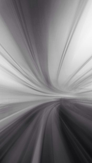 Enter The Void Abstract Riding The Train Vortex