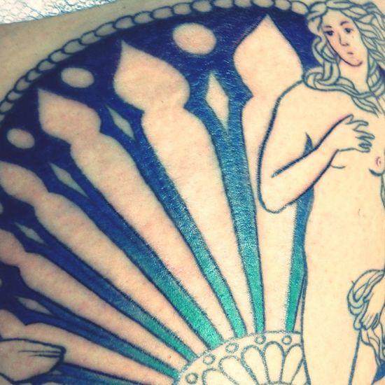 Goddess Getting Inked No Pain, No Gain Tattoo