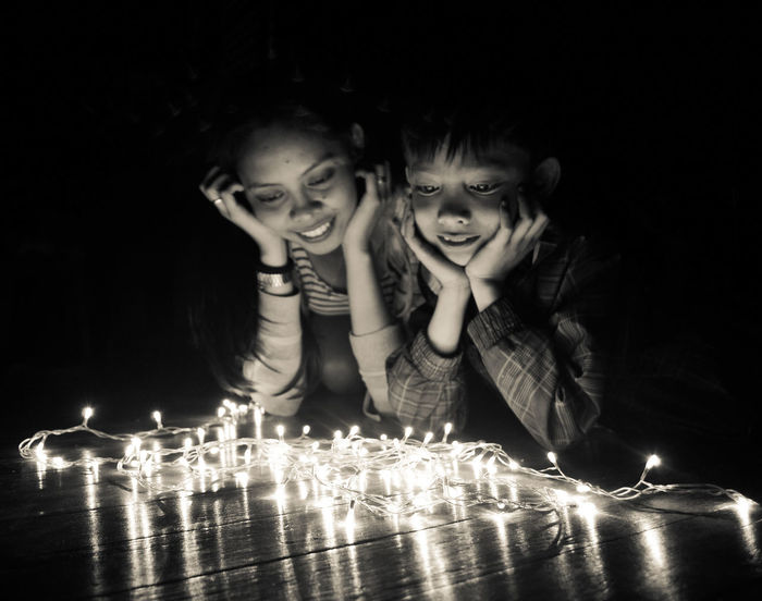 Mix Yourself A Good Time Celebration Holiday - Event Togetherness Happiness SiblingsLove❤ Fairy Lights