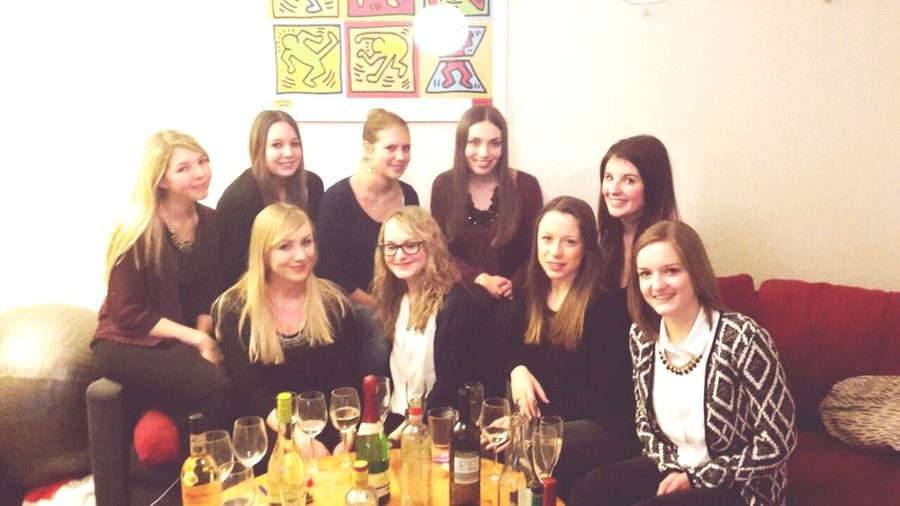 First Semester ✅Done Friends ❤ Partytime Freiburg