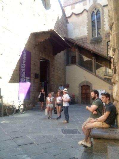 palazzodi parte Guelfa, adesss ouna biblioteca Firenze Italy