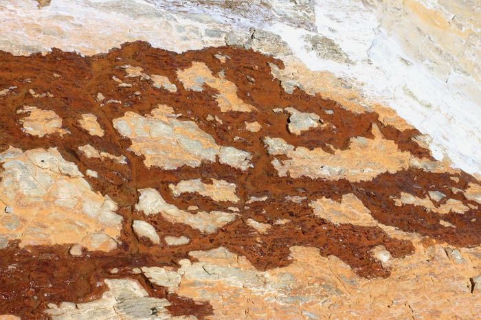EyeEm Selects Backgrounds Abstract Textured  Ancient Full Frame Pattern Paper Close-up Painted Image No People EyeEm Best Shots - Landscape Northern California Beauty In Nature Coastline Ground Landscape Rock Formation Textured  Rust Nature